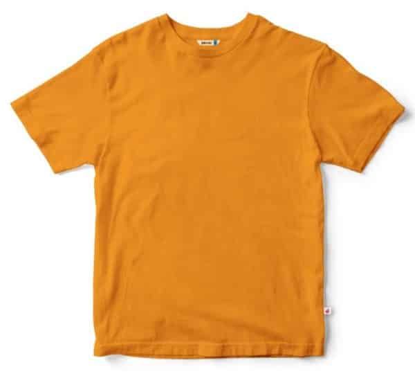 Golden Yellow plain Tshirt