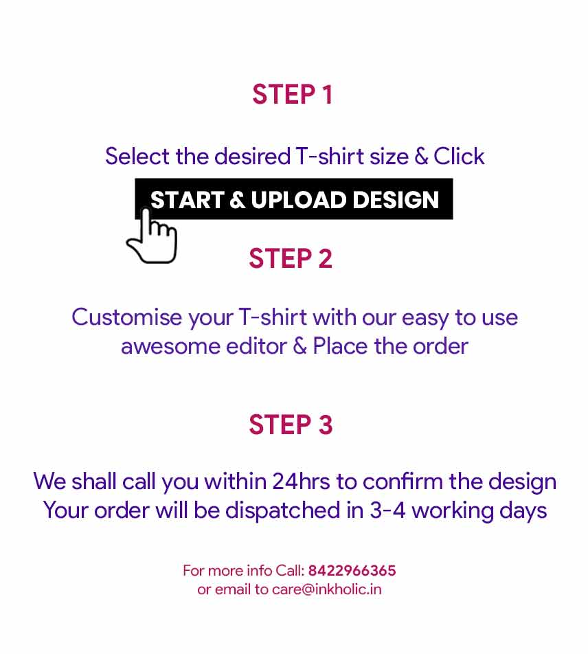 steps for customisation